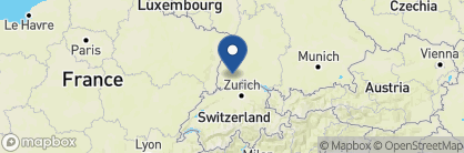 Map of Treschers Schwarzwaldhotel am See, Germany