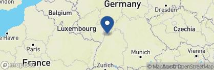 Map of Hotel Europäischer Hof, Germany