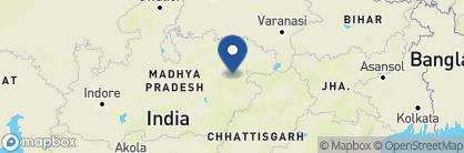 Map of Mahua Kothi, India