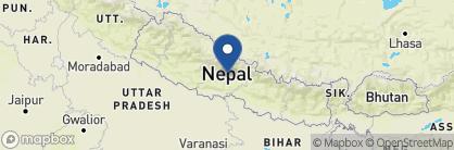Map of Barahi Jungle Lodge, Nepal