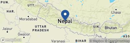 Map of Temple Tree Resort & Spa, Nepal