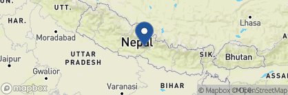 Map of Gaon Ghar, Nepal