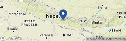 Map of Hotel Heritage, Nepal