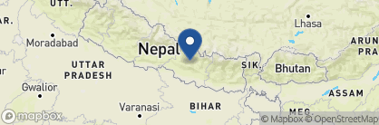 Map of Bhadgaon Guest House, Nepal