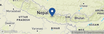 Map of Namobuddha Resort, Nepal
