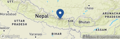 Map of Everest Summit Lodge Monjo, Nepal