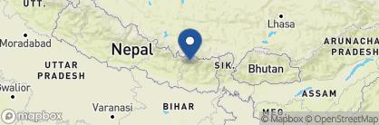 Map of Everest Summit Lodge Lukla, Nepal