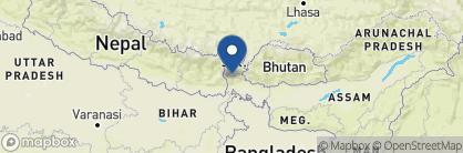 Map of Glenburn Tea Estate, India