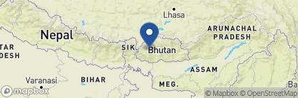 Map of Taj Tashi Hotel, Bhutan