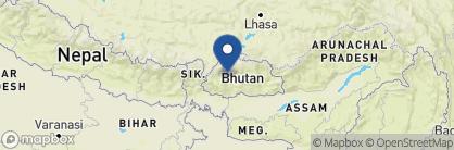Map of COMO Uma Punakha, Bhutan