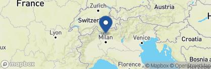 Map of Palazzo Del Vice Re, Italian Lakes