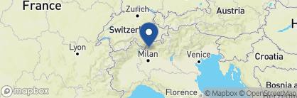 Map of Grand Hotel Tremezzo, Italian Lakes
