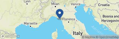 Map of Grand Hotel Portovenere, Italy