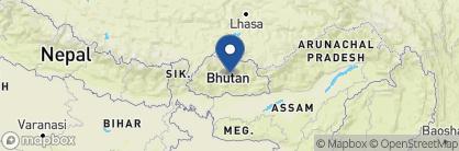 Map of Yangkhil Resort, Bhutan