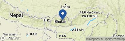 Map of Amankora Jakar, Bhutan
