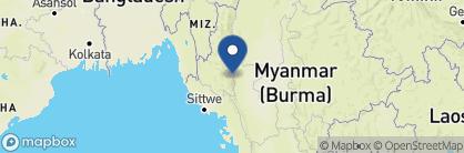 Map of Mountain Oasis Resort (Mindat), Myanmar