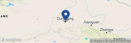 Map of Silk Road Dunhuang Hotel, China