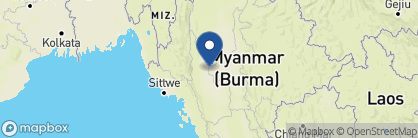 Map of Areindmar Hotel, Myanmar