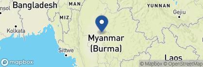 Map of Yadanarpon Dynasty Hotel, Myanmar