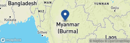 Map of Hotel by the Red Canal, Myanmar