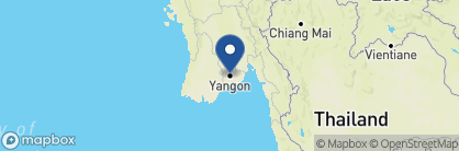 Map of Classique Inn, Myanmar