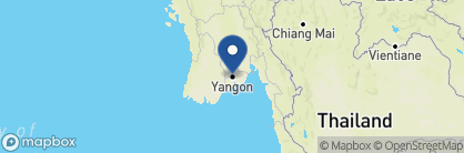 Map of Pandaw Cruises, Myanmar