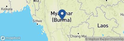 Map of The Amara, Myanmar