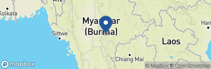 Map of Shwe Inn Tha Floating Resort, Myanmar