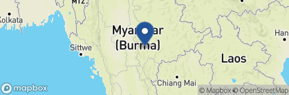 Map of Sanctum Inle Resort, Myanmar