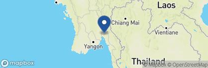 Map of Mountain Top Inn, Myanmar