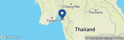 Map of Attran Hotel, Myanmar
