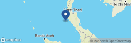 Map of The Surin, Thailand