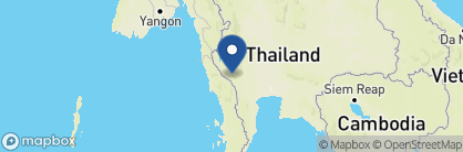 Map of The Float House, Thailand