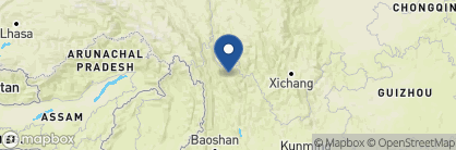 Map of Songtsam Hotel, China