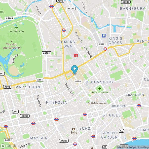Mapbox map