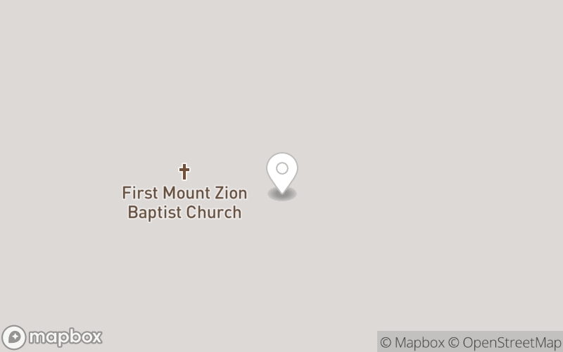 First Mount Zion Baptist Church