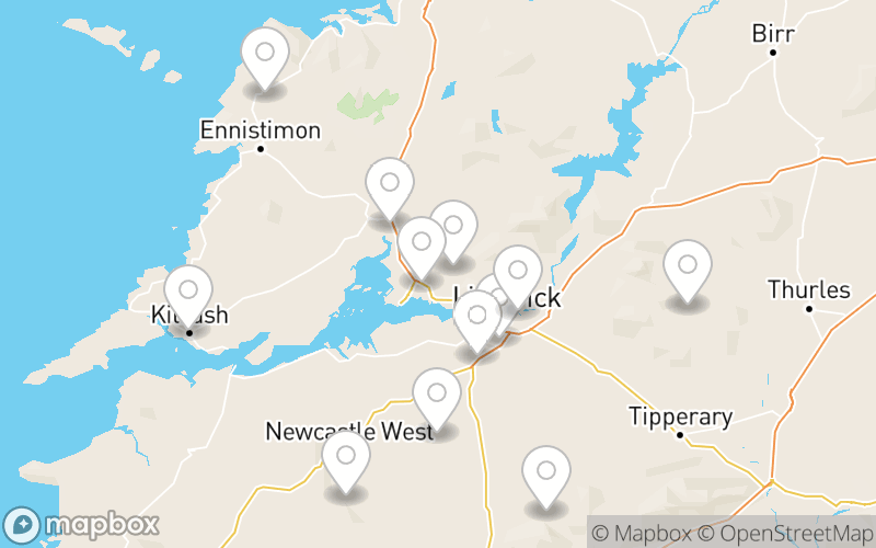 Mid-West of Ireland flower deliveries
