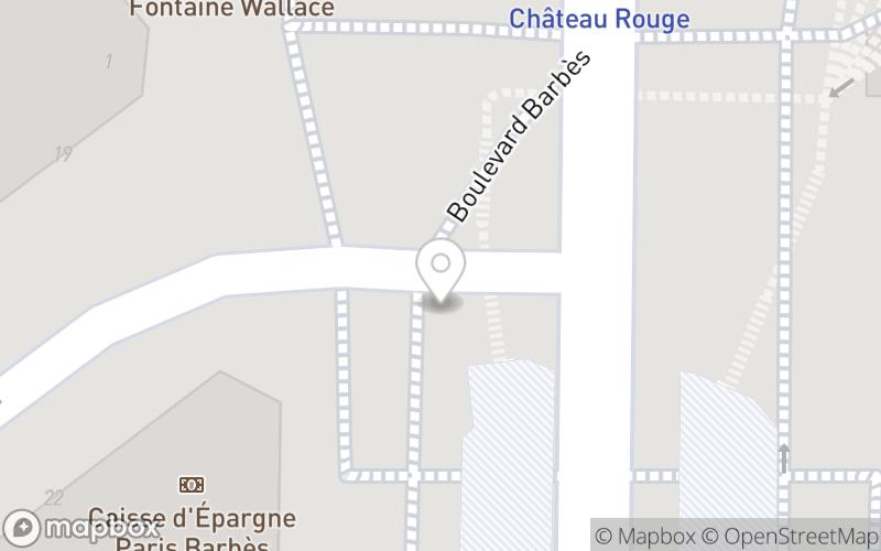 Château Rouge, Paris