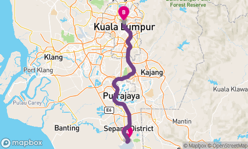 Kuala lumpur airport kul to putra world trade centre 7 ways to map of how to get from kuala lumpur airport kul to putra world trade gumiabroncs Choice Image