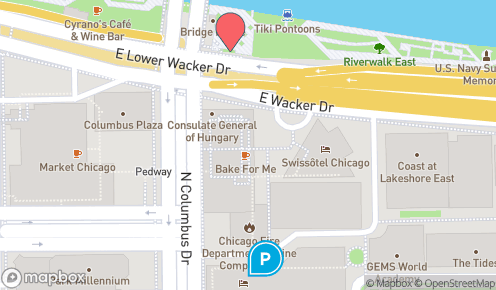 Riverwalk Chicago Map.Chicago Riverwalk Cafe Parking Find Parking Near Chicago Riverwalk