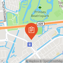Map of 51.92518797,4.38398488