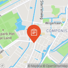 Map of 51.99995937,4.48238788