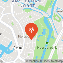 Map of 52.39659378,4.91654249