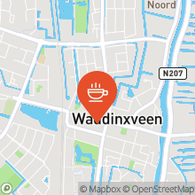 Map of 52.04612802,4.65329334