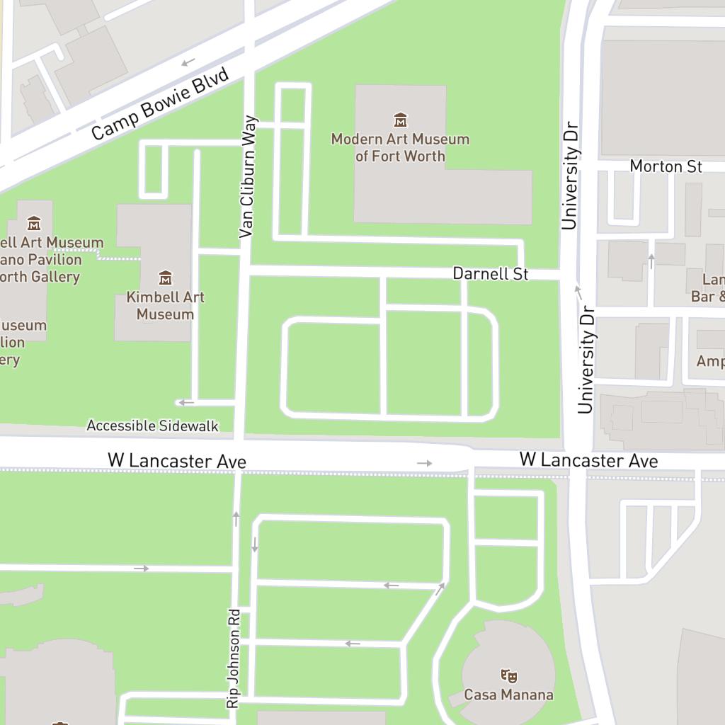Forth Worth Parking   Cultural District on art institute of chicago map, cowboys stadium map, metropolitan museum of art map, clark art institute map, fort worth map, high museum of art map, philadelphia museum of art map, denver art museum map, stedelijk museum amsterdam map,