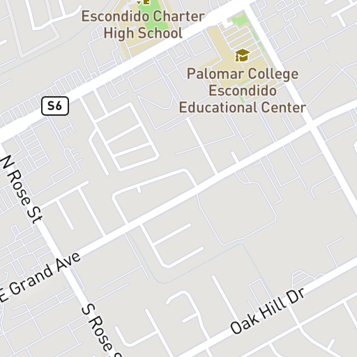 Palomar College Escondido Campus Map.1706 E Valley Pkwy Grande Laundry Place