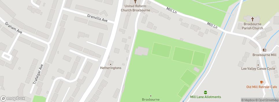 Broxbourne Hockey Club Mill Lane Close