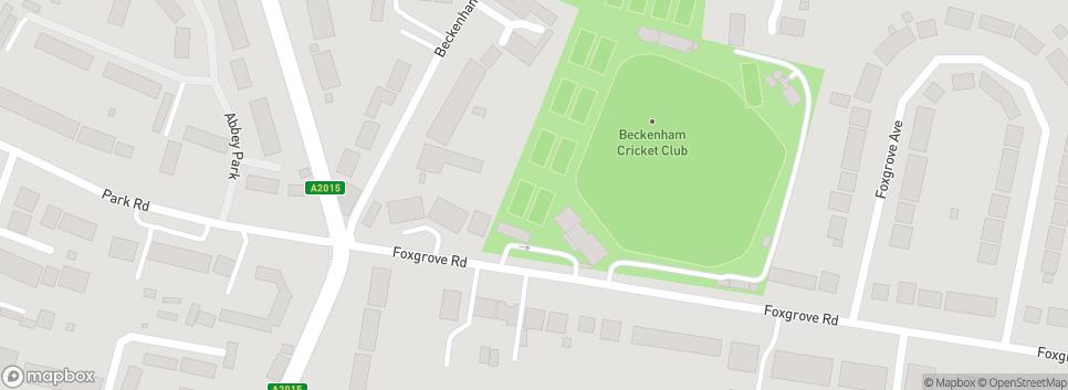 Bromley and Beckenham Hockey Club Foxgrove Road