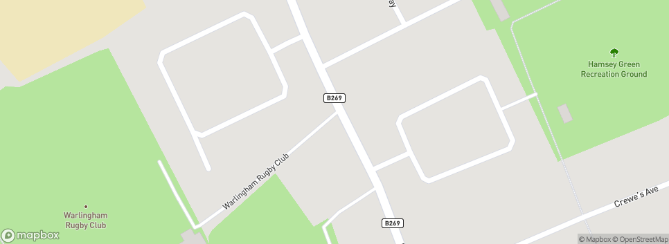 Warlingham RFC - 'the Mighty Warl' Limpsfield Road