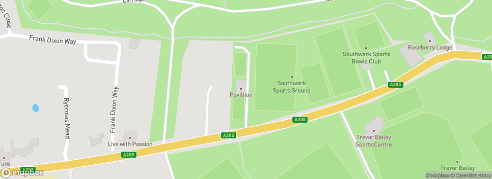 Peckham Town Football Club The Menace Arena